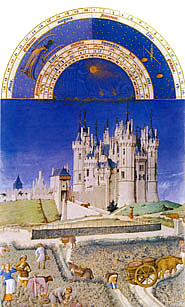 Virgo-Libra - Castle with fields